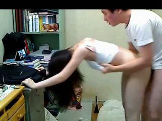 Coreana mais velho irmão a foder dela younger sister