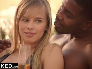 Blacked kendra sunderland inter-racial obsession parte 2