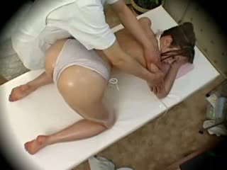 Spycam mode modele seduced līdz masseur 1