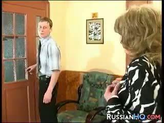 büyükanne, eski + genç, rus