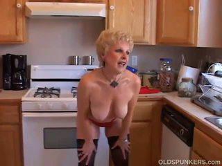 cougar, old, granny