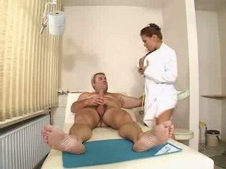 A hot nurse saved me Video