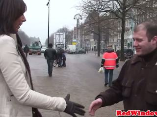 Doggystyled Dutch Prostitute Welcomes Tourist: Free Porn f1