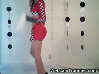 Chick transsexual In Uniforms Best of!