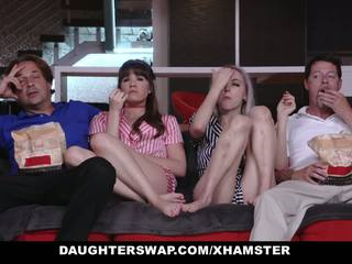 Daughterswap - Teens Tricked into Fucking Dads Best.
