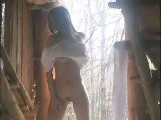Alessandra: fria hårig & baben porr video- ca