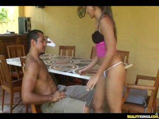 Dissolute youngster female lynn amor got dela hoochie shaged