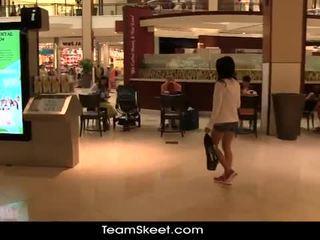 Gorgeous teen jasmine gomez takes huge cock
