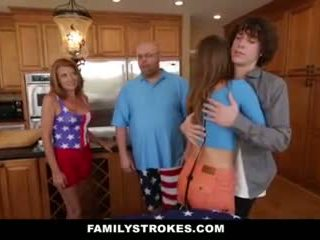 Familystrokes - Stepsister Gets Fucked By Her New Brother
