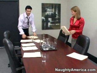 sexe hardcore, sexe de bureau, secrétaire