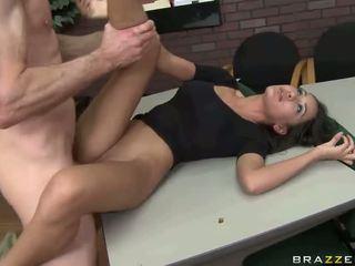 큰 섹스 와 뜨거운 단 정치 못한 여자