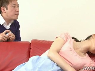 Japanese MILF toyed in early morning