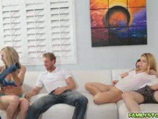 group sex, suur rind uus, ideaalne blowjob