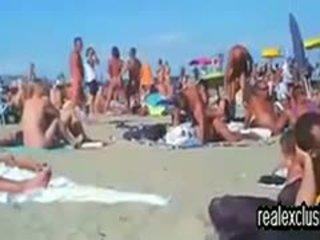 brunetta, scambisti, spiaggia