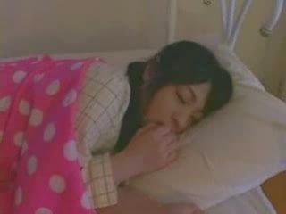 Sova flicka körd hård video-