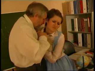 Učitel zneužívány němec panenka