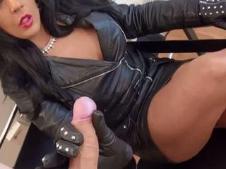 Σέξι dom σε δέρμα sucks & hj, ελεύθερα άραβας πορνό βίντεο 48