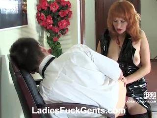 Mengen van strapon seks porno met irene, connor, nora