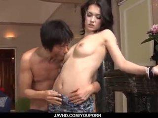 Nuostabus maria ozawa receives two cocks vidus jos