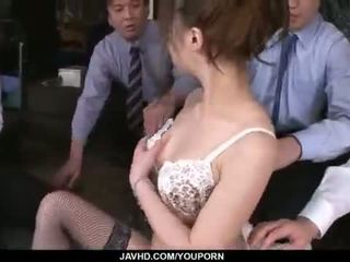 Aiko hirose gets knullet av alle henne kontor colleagues