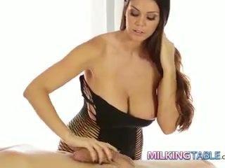 Alison tyler con gà trống milking một to tinh ranh đến một kiêmshot