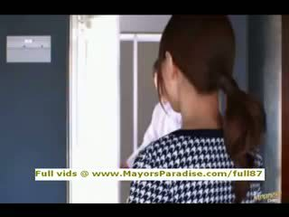 Akiho yoshizawa innocent chińskie dziewczyna gets cipka licked