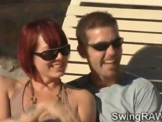 Ezt medence buli van an mentség hogy csinál párcserélő couples kap szemérmetlen
