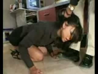 Stupid employee brutally destroyed par frustrated boss