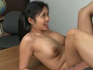 Asiatic hottie mika tan assfucked