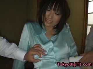 Hinano sakaki japanese doll is hot