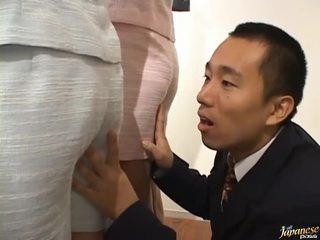 hardcore sexo, japonês, cona drilling
