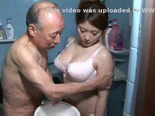 japansk, pussyfucking, avsugning