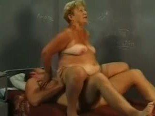 Oma en jong lul