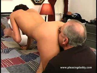 hardcore sex, výstrek, old young sex