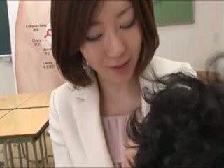 japonés, sexo en grupo, madre
