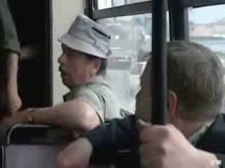 public, russian, bus
