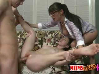 group sex, big cock, threesome