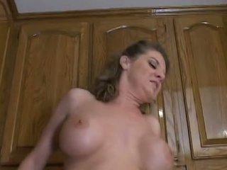 Hot Mature Mom Kayla Quinn Enjoys A Taste Of Big Black Cock