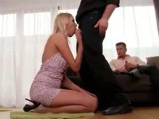 Teena Lipoldino gets anal fucked by two guys