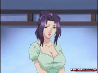 日本語 無盡 媽媽 同 巨大 jugs gets 性交 由 老 男人