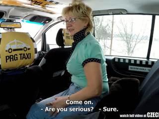 Cseh érett szőke éhes mert taxi drivers fasz: porn 99