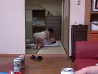 Rina ooshima appreciates multiposition xxx i den living rum