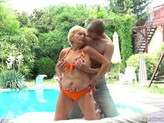 Abuelita fucks ¡siguiente a un piscina, gratis 21 sextreme hd porno d5