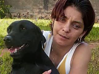 brasiliansk, ansikts, anal