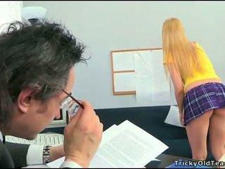 Sexe lesson avec en chaleur prof