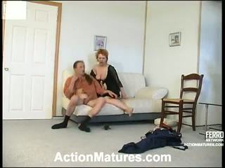 Ophelia And Marcus Kinky Old Video Scene