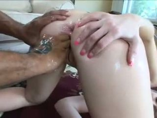 doggy style, new big cock, you oiled full