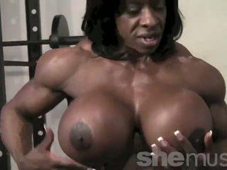 Ebenovinaste female muscle