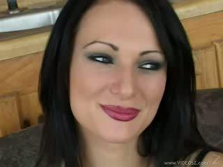 امرأة سمراء, assfucking, أهبل