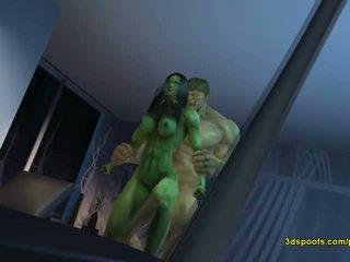 She hulk he - there is nothing like däli angry sikiş!